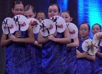 China Fans - Music for Dance School and Theatre productions by David Beard Music Production